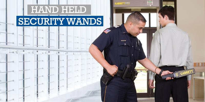 Hand Held Security Wands